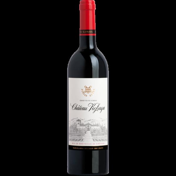 Chateau Rouge von Chateau Kefraya aus dem Libanon - libanesische Weine und die Weinkultur des Libanons
