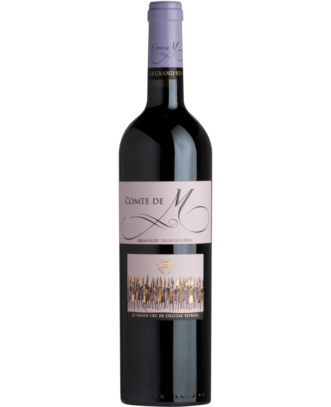 Comte de M aus dem Libanon - libanesische Weine