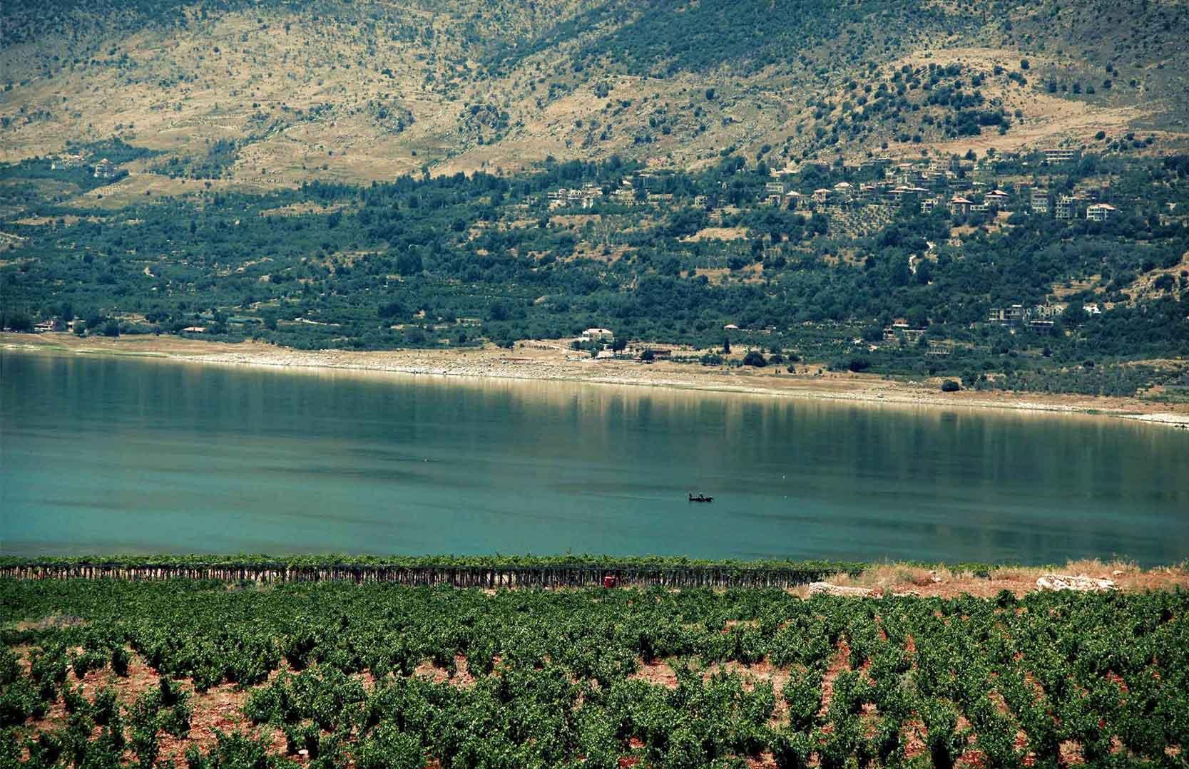 Lake Qauroun von Latourba