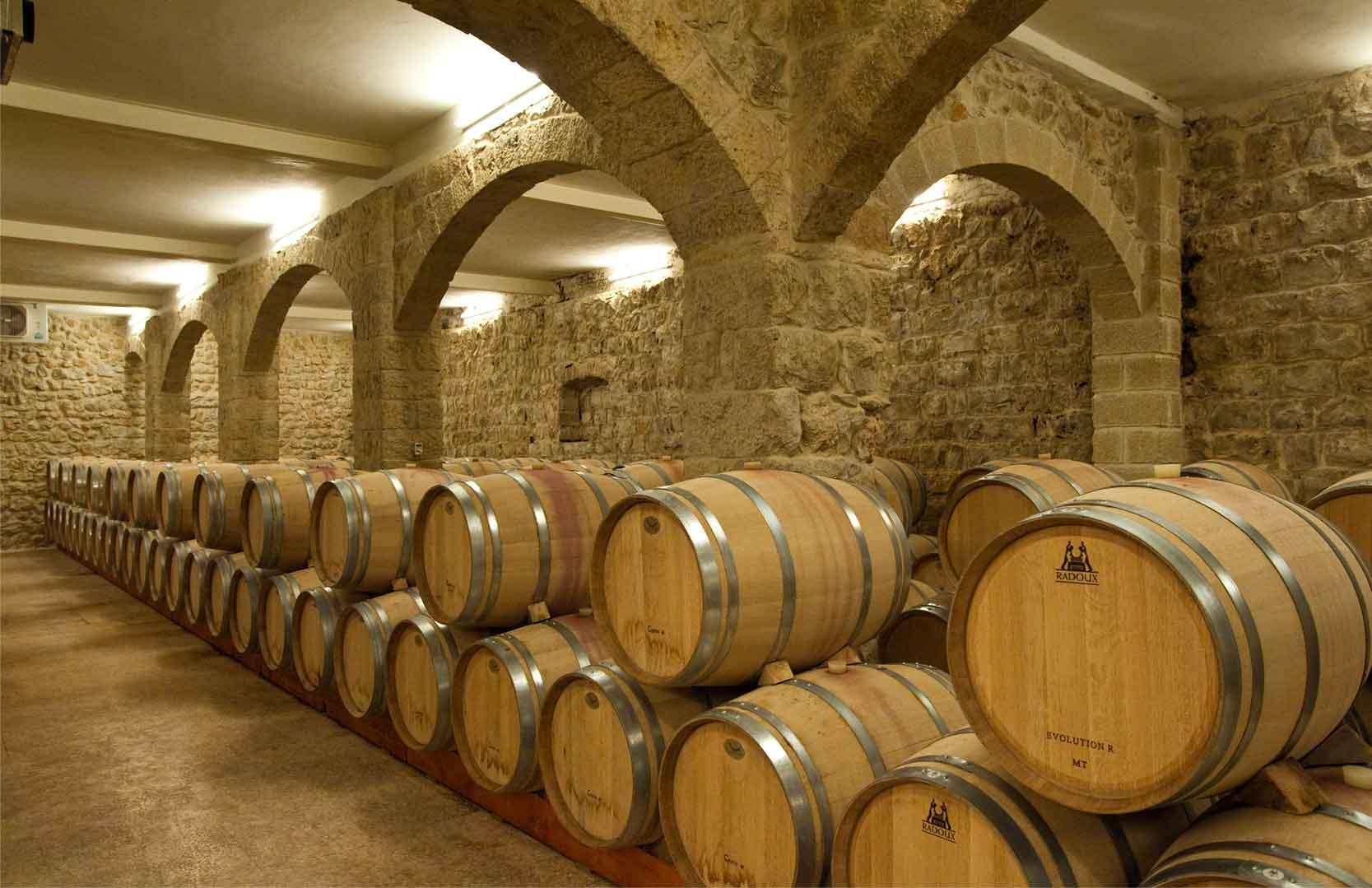 Weinkeller von Chateau Ksara