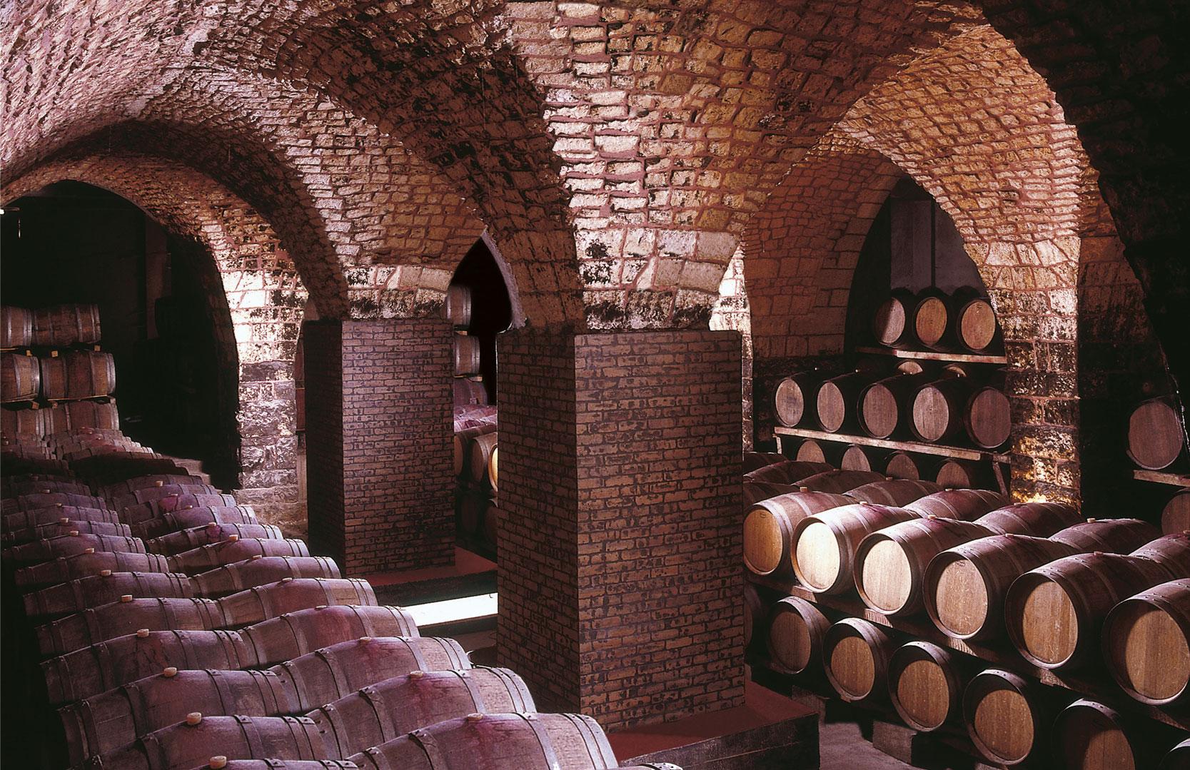 Weinkeller von Chateau Musar