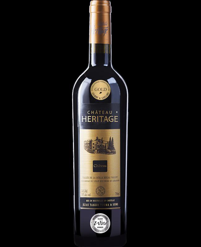 Chateau ein libanesische Rotwein aus der Bekaa