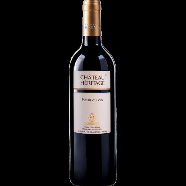Plasier du Vin von dem libanesische Weingut Chateau Heritage