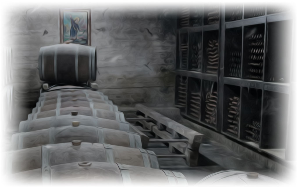 Weinkeller von Chateau Heritage