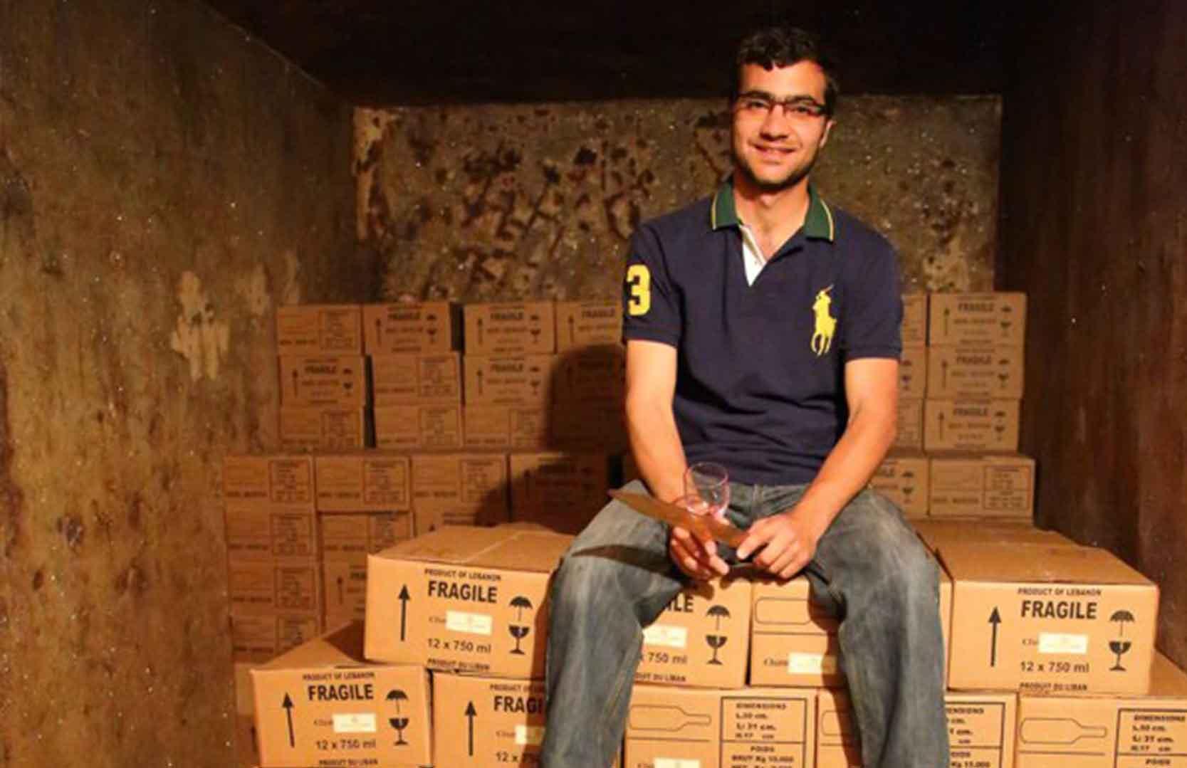 Önologe Jalal Nakad von Chateau Nakad aus dem Libanon